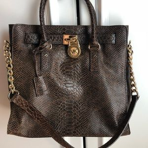 MK large tote/satchel bag